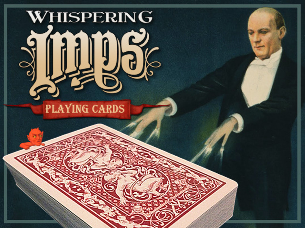 Whispering Imps™ Playing Cards's video poster