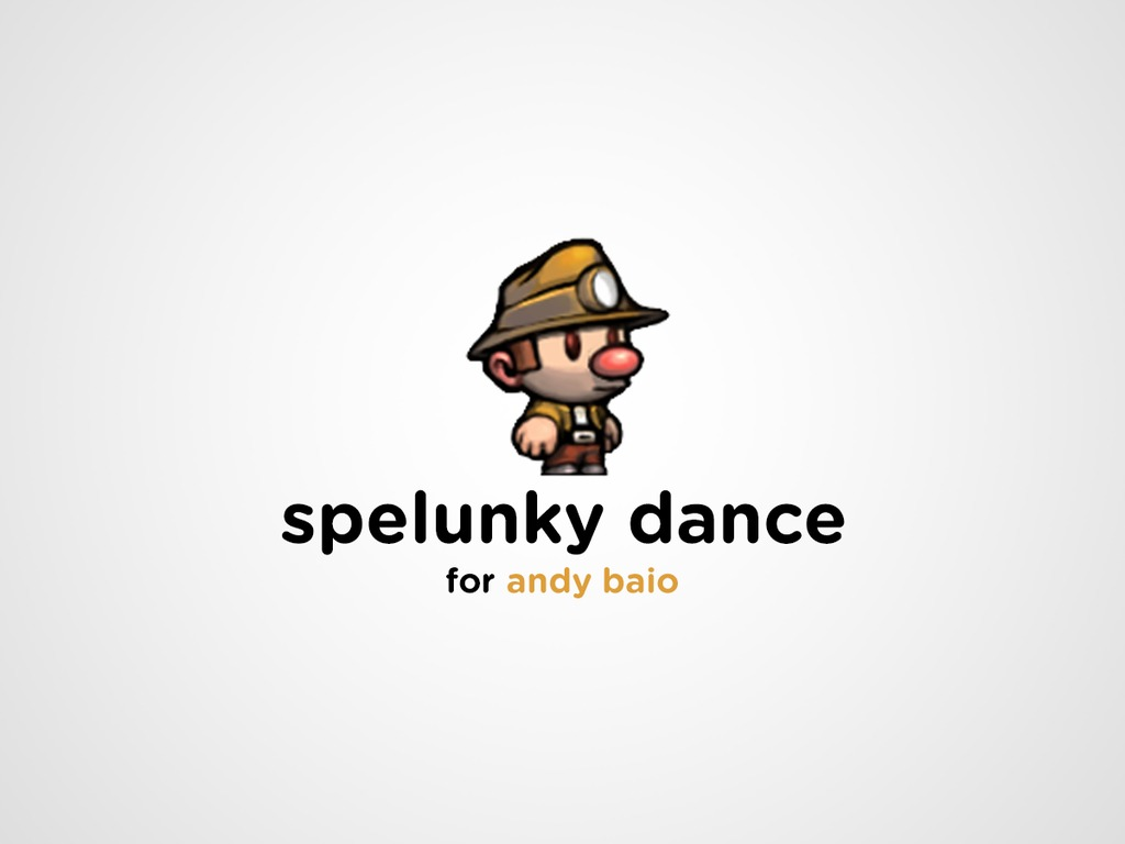 Spelunky Dance's video poster