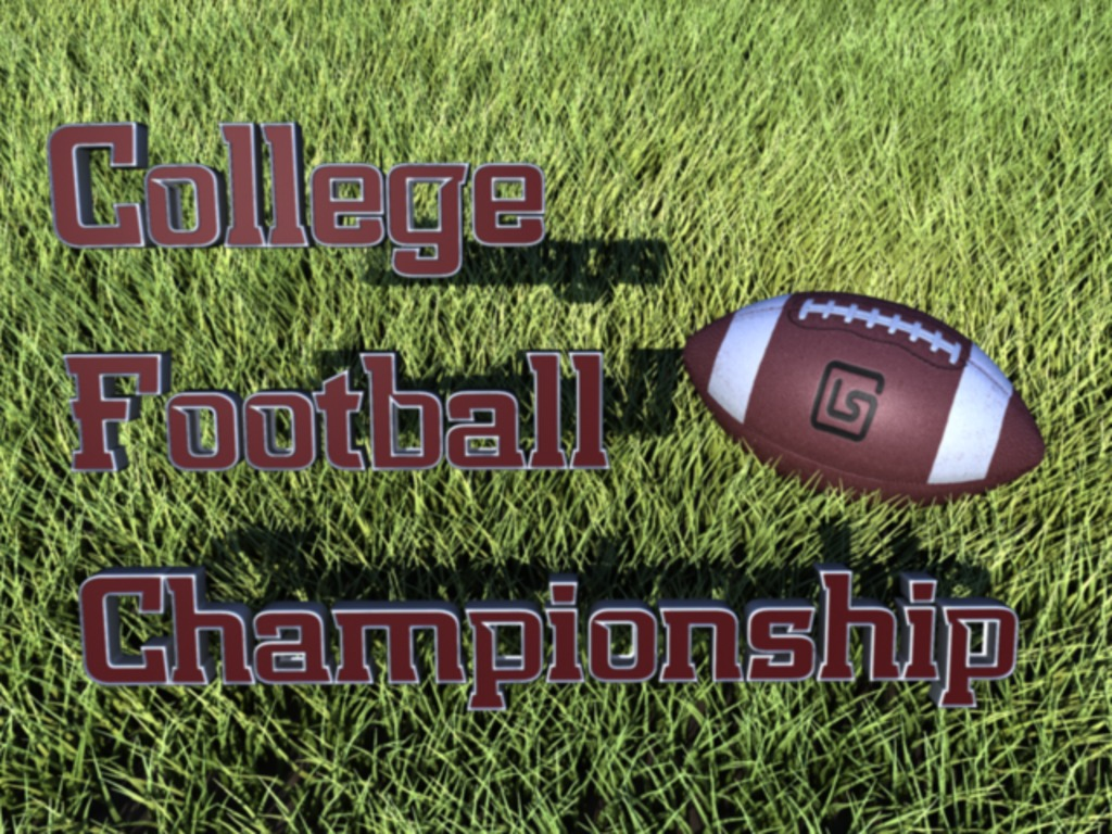 College Football Championship Game (Canceled)'s video poster