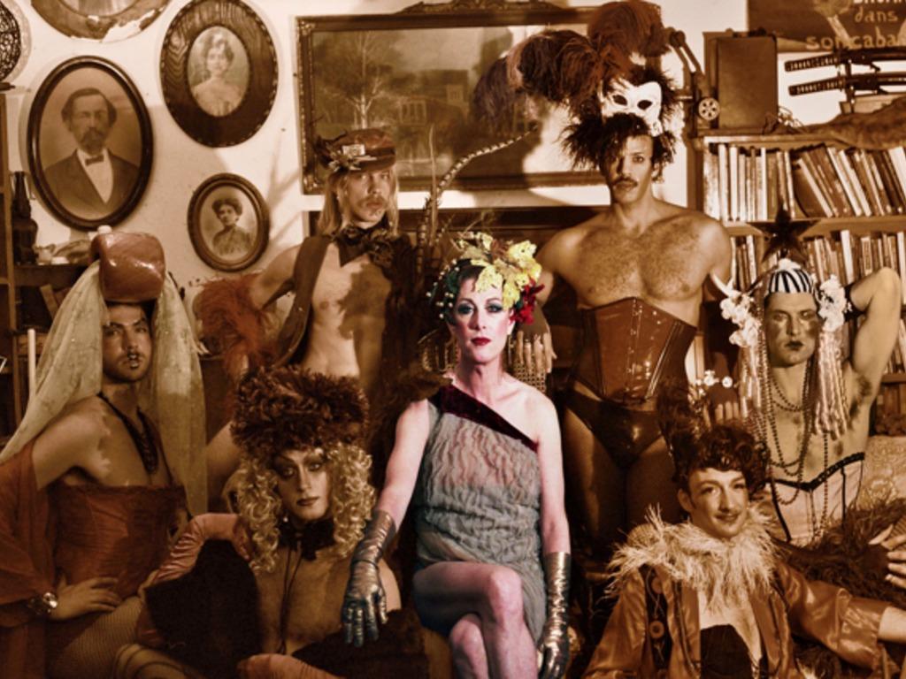 "Justin Vivian Bond's ""Golden Age of Hustlers""'s video poster"