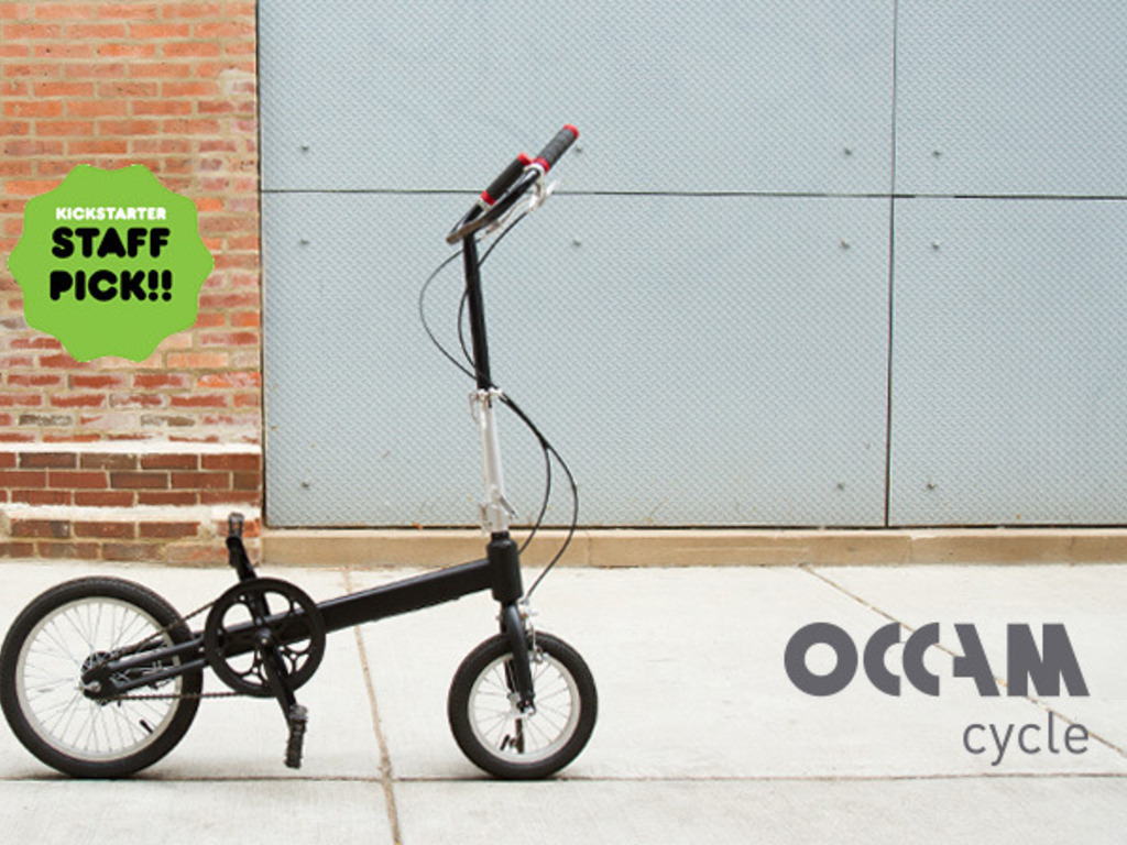Occam Cycle: The Simplest Folding Bike for Everyday Riding's video poster
