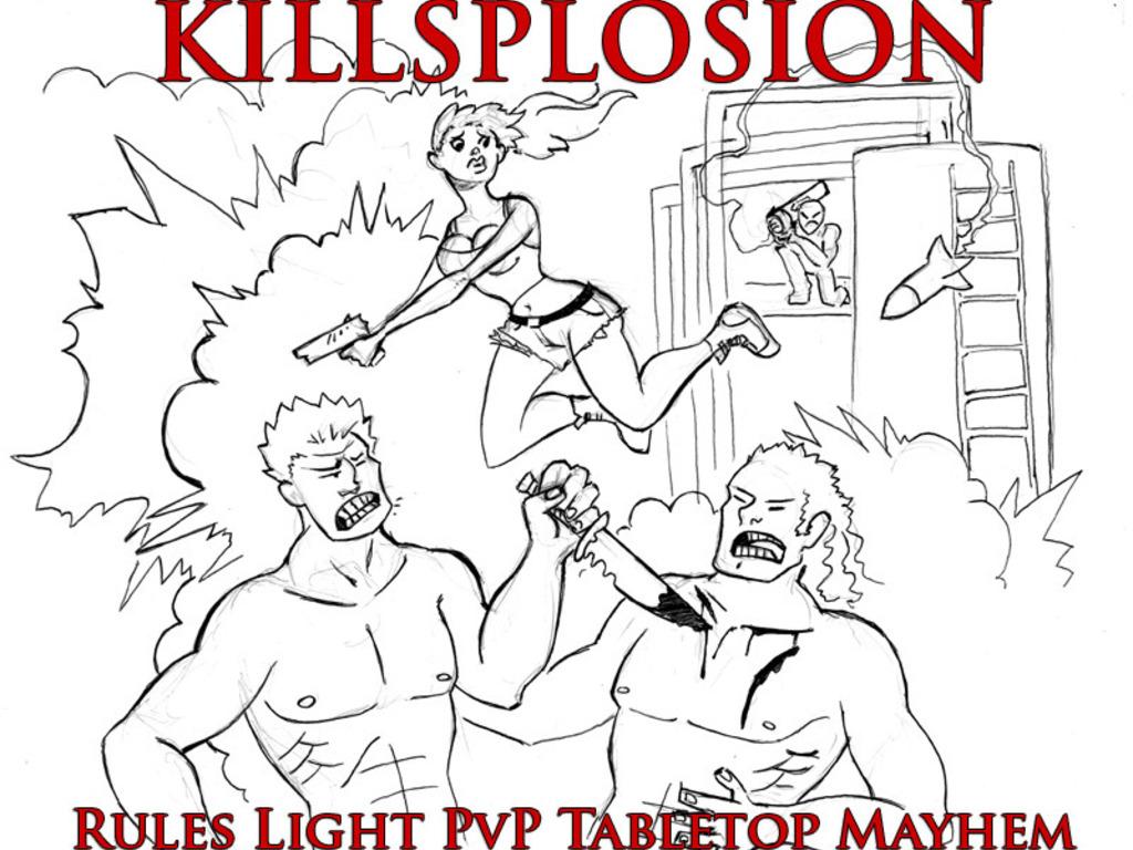 Killsplosion: A PvP rules light tabletop RPG's video poster