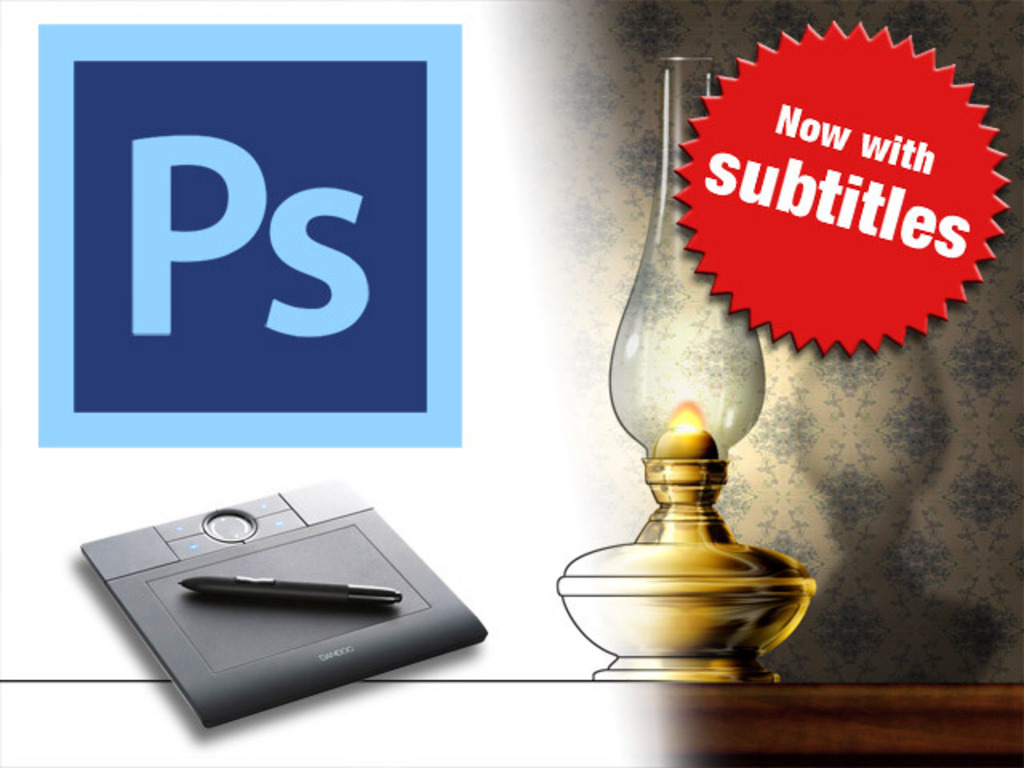 Photoshop for illustrators and designers.'s video poster