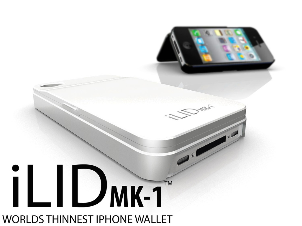 World's thinnest iPhone wallet: iLIDmk-1's video poster