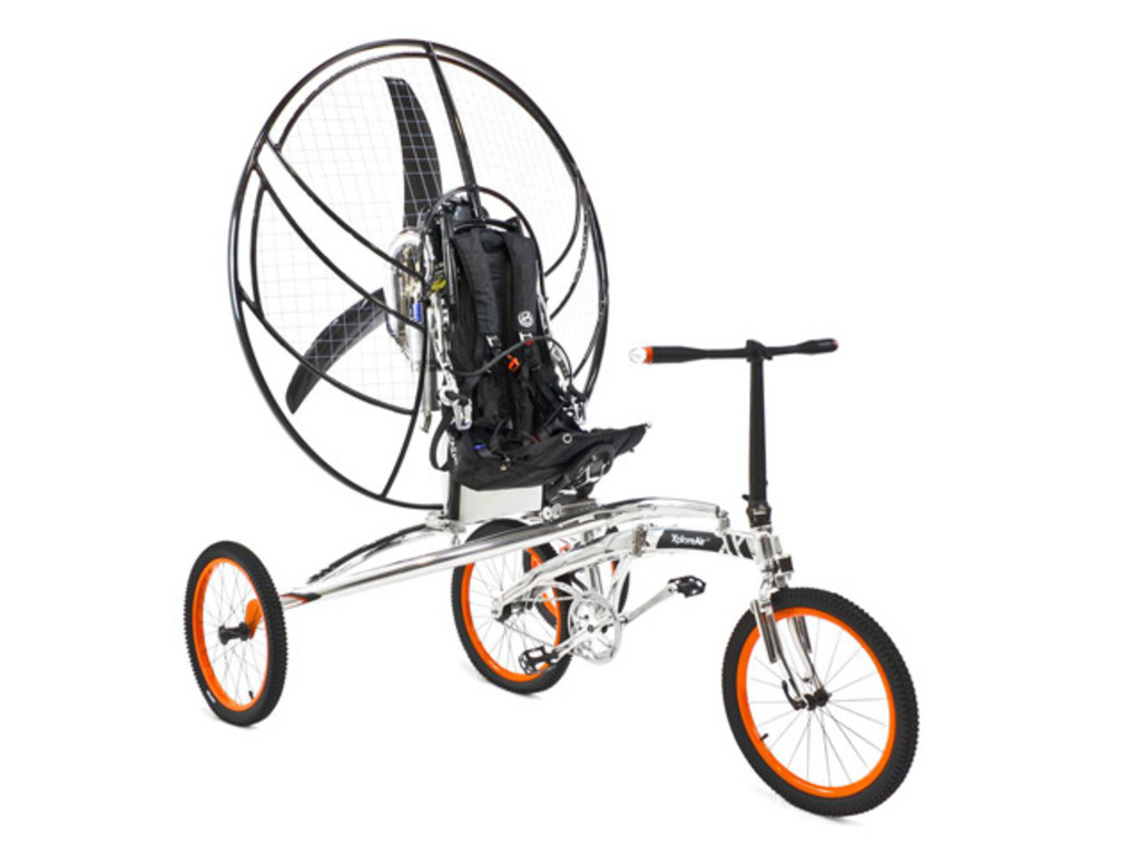Paravelo: The world's first flying bicycle's video poster