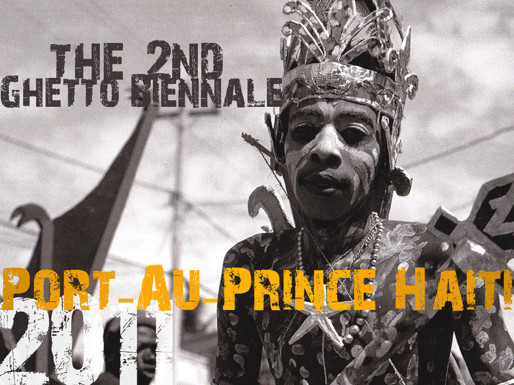 The 2nd Ghetto Biennale in Port-au-Prince Haiti's video poster