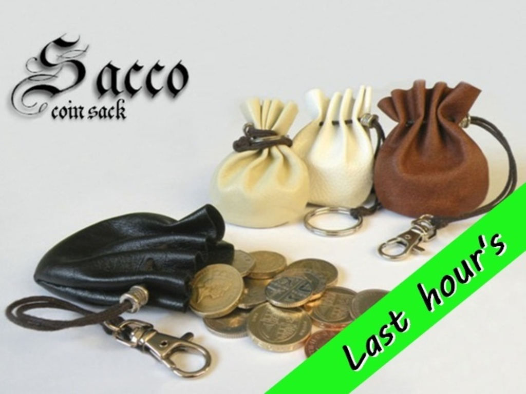Sacco -  First Coin Sack on Kickstarter's video poster
