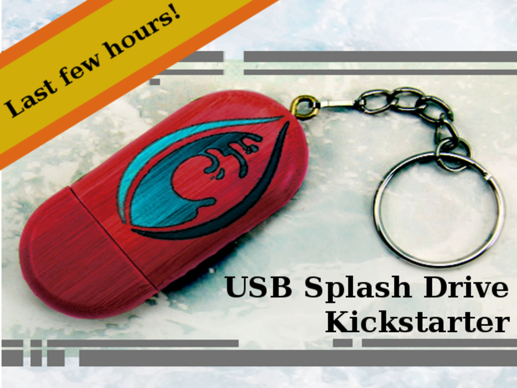 Subaqueous: USB Splash Drive Ending Today!'s video poster