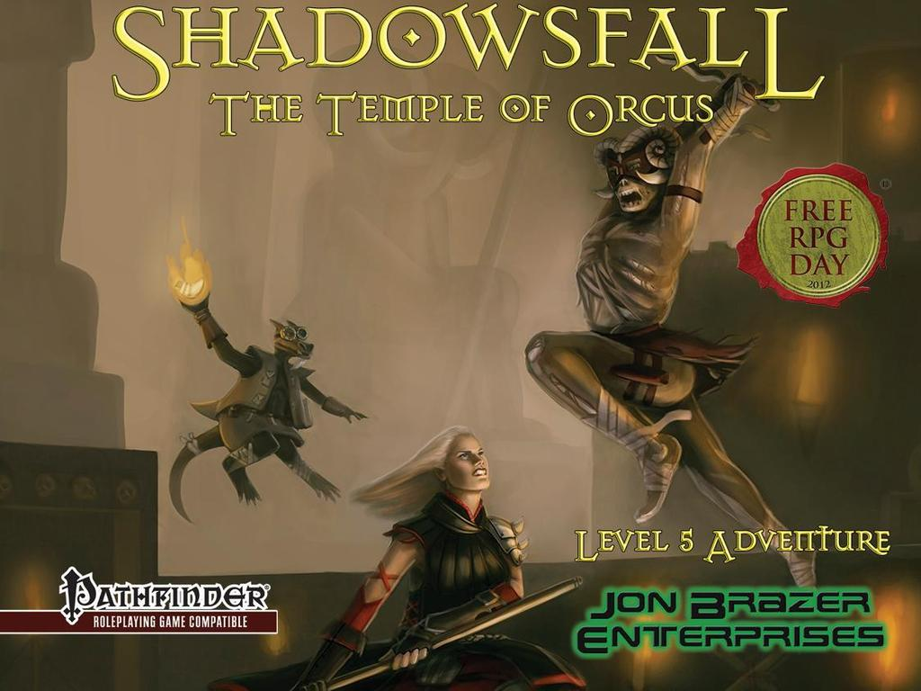 Free RPG Day Shadowsfall Adventure for Pathfinder RPG's video poster