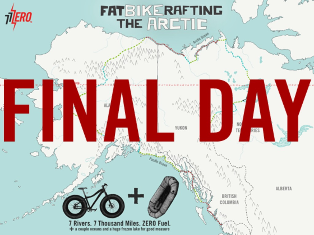 Fatbikerafting the Arctic's video poster