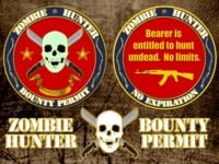 Zombie Hunter Permits (Limited Edition)