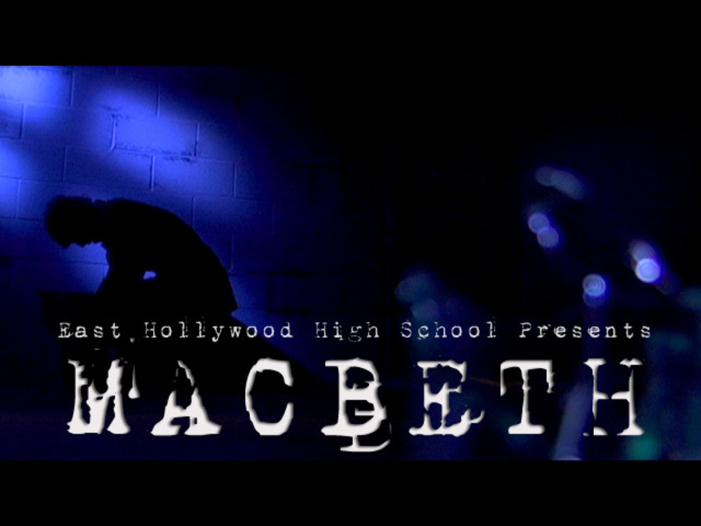 MACBETH: a high school feature film production 's video poster