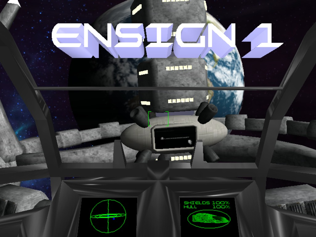 Multiplayer Space Combat - Ensign 1's video poster
