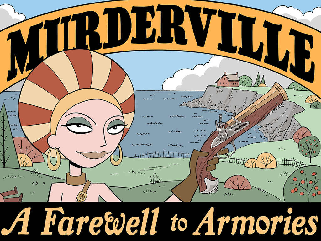 "MURDERVILLE Comic Book #1: ""A Farewell to Armories""'s video poster"