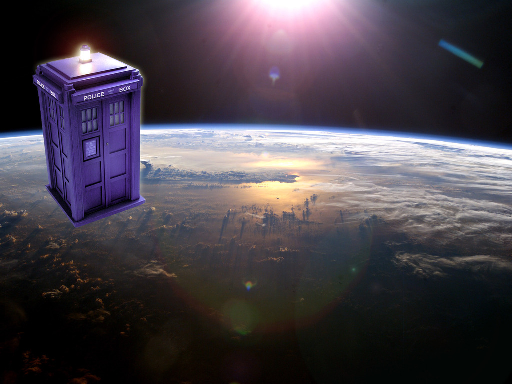 We're putting a TARDIS into orbit - Really!'s video poster