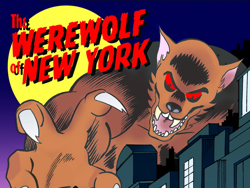 The Werewolf of New York's video poster
