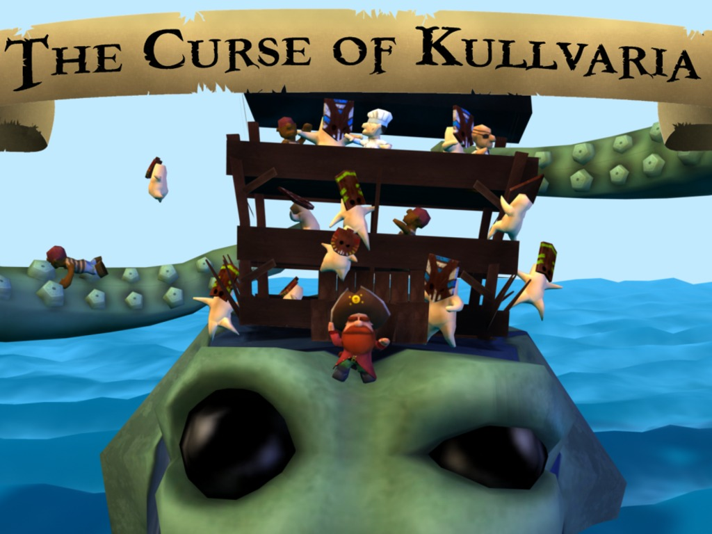 The Curse of Kullvaria - A Pirate Twin Stick Shooter for iOS's video poster