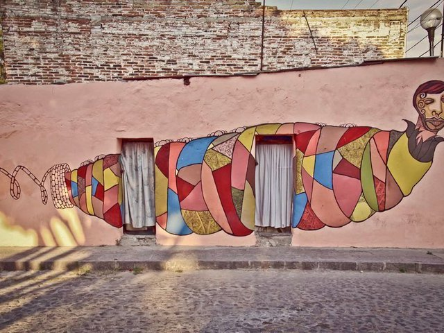 Puebla mural city by colectivo tomate kickstarter for Arte colectivo mural