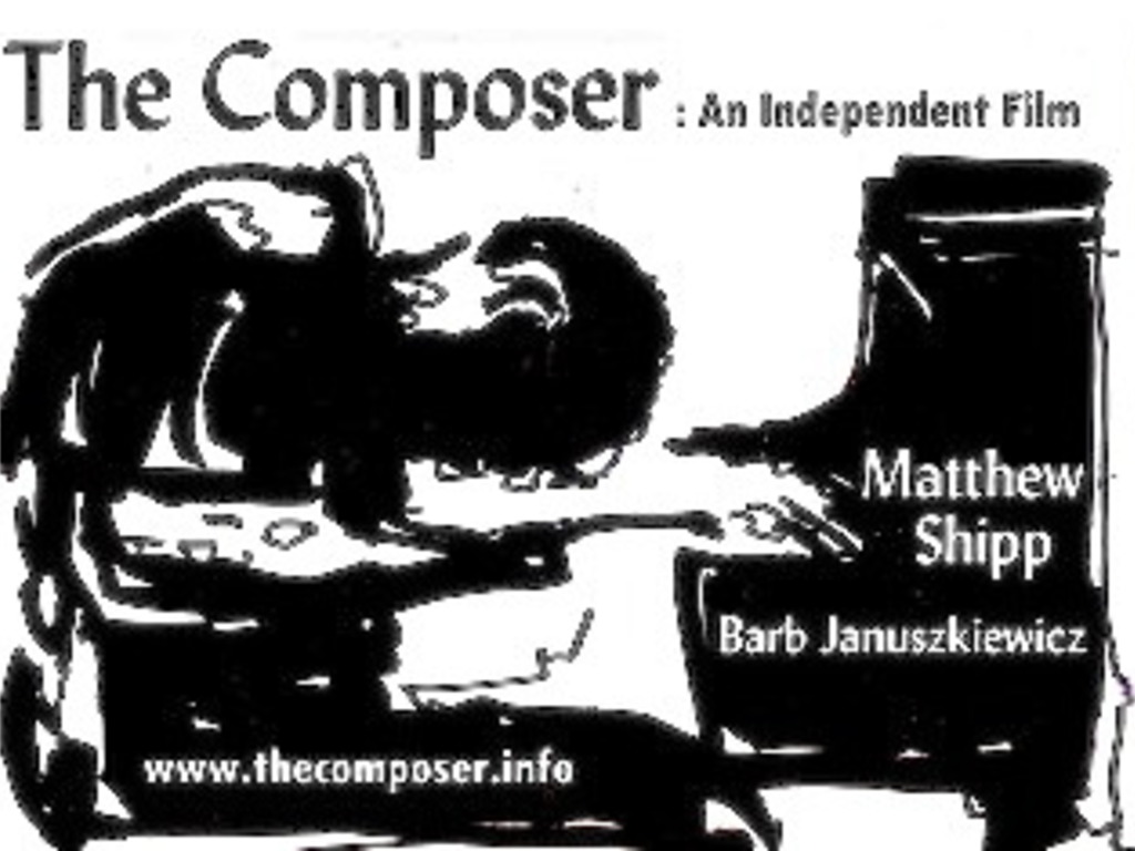 The Composer:  Matthew Shipp & Barb Januszkiewicz Film/art's video poster