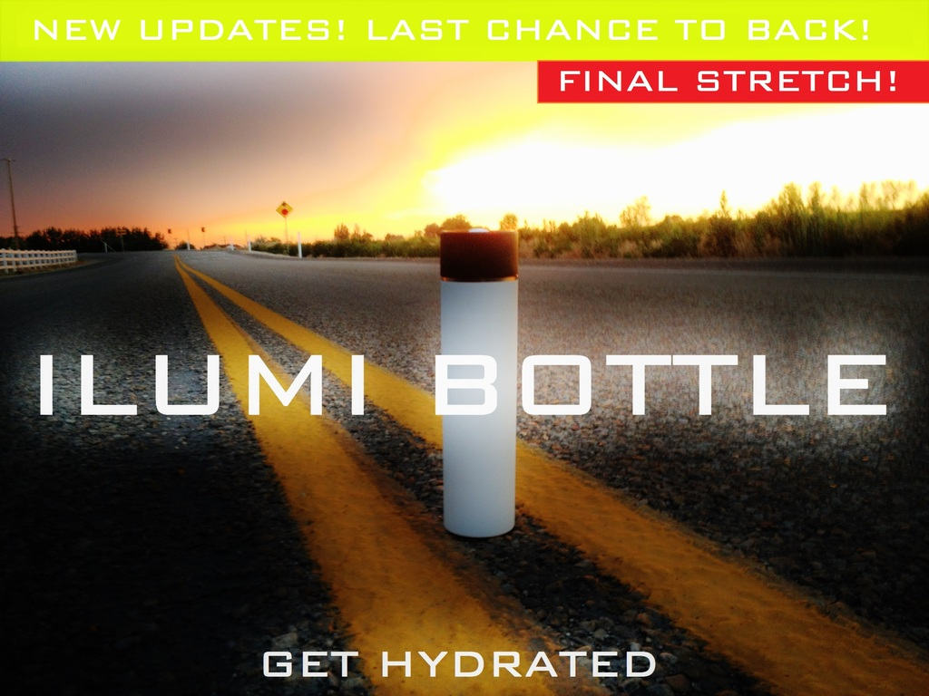 ILUMI Smartbottle: The new way to keep hydrated.'s video poster