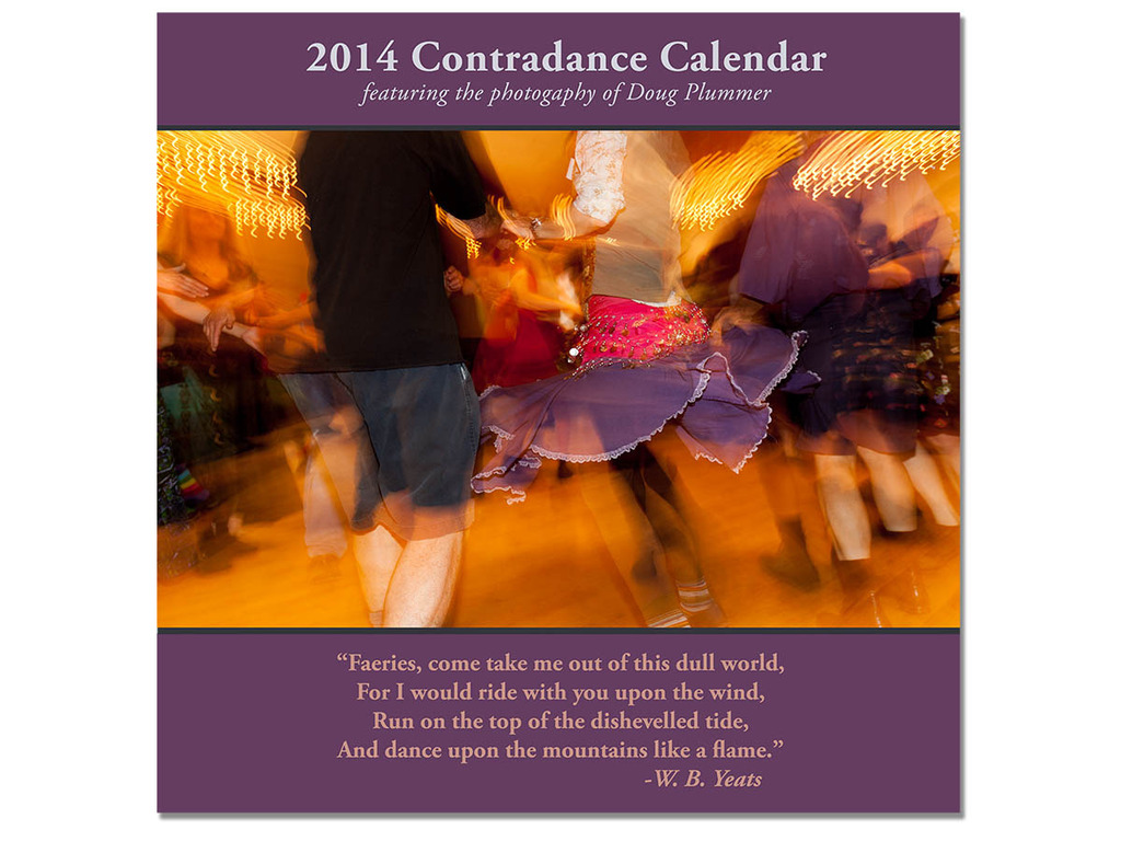 The 2014 Contradance Calendar's video poster
