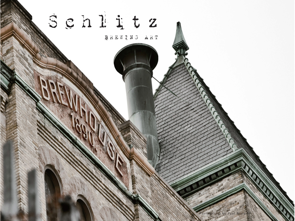Schlitz, Brewing Art's video poster
