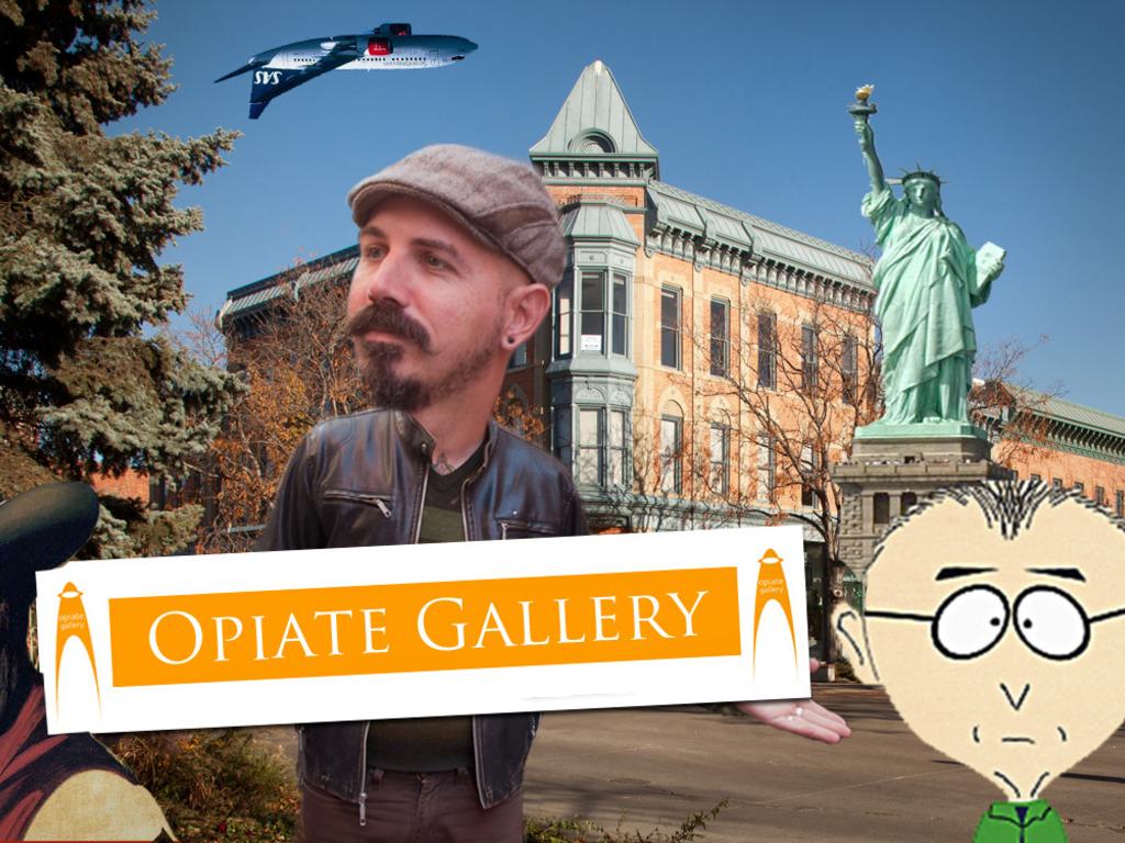 Opiate Gallery:  Art is Back!'s video poster