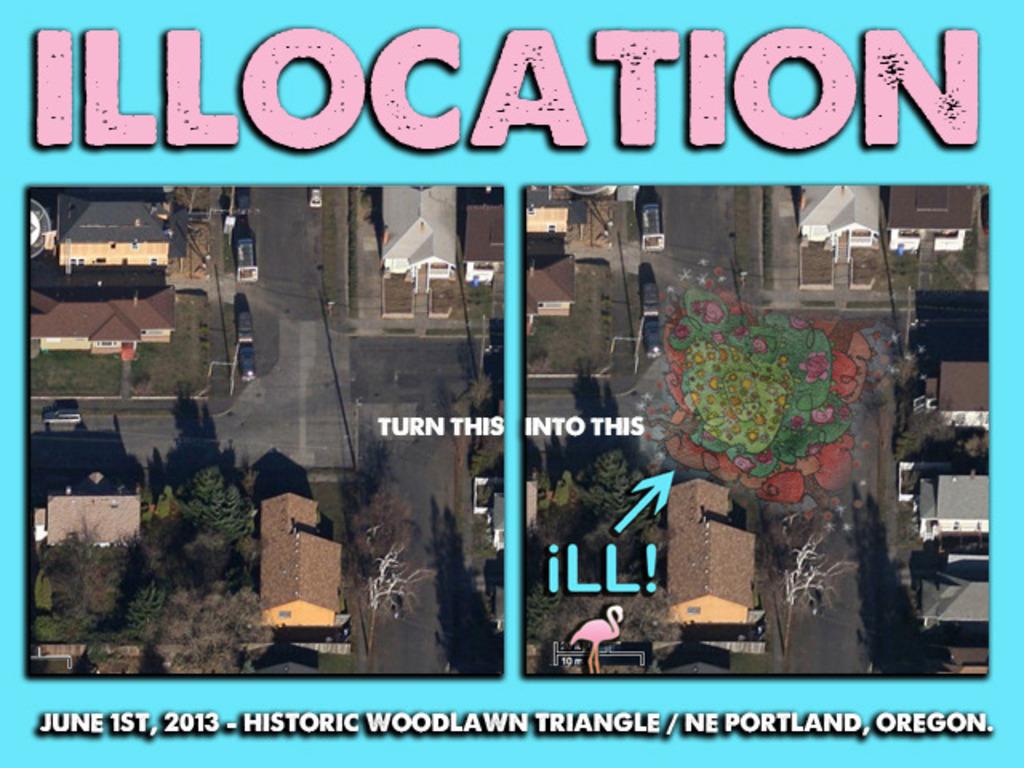 ILLOCATION: NE, PDX's video poster