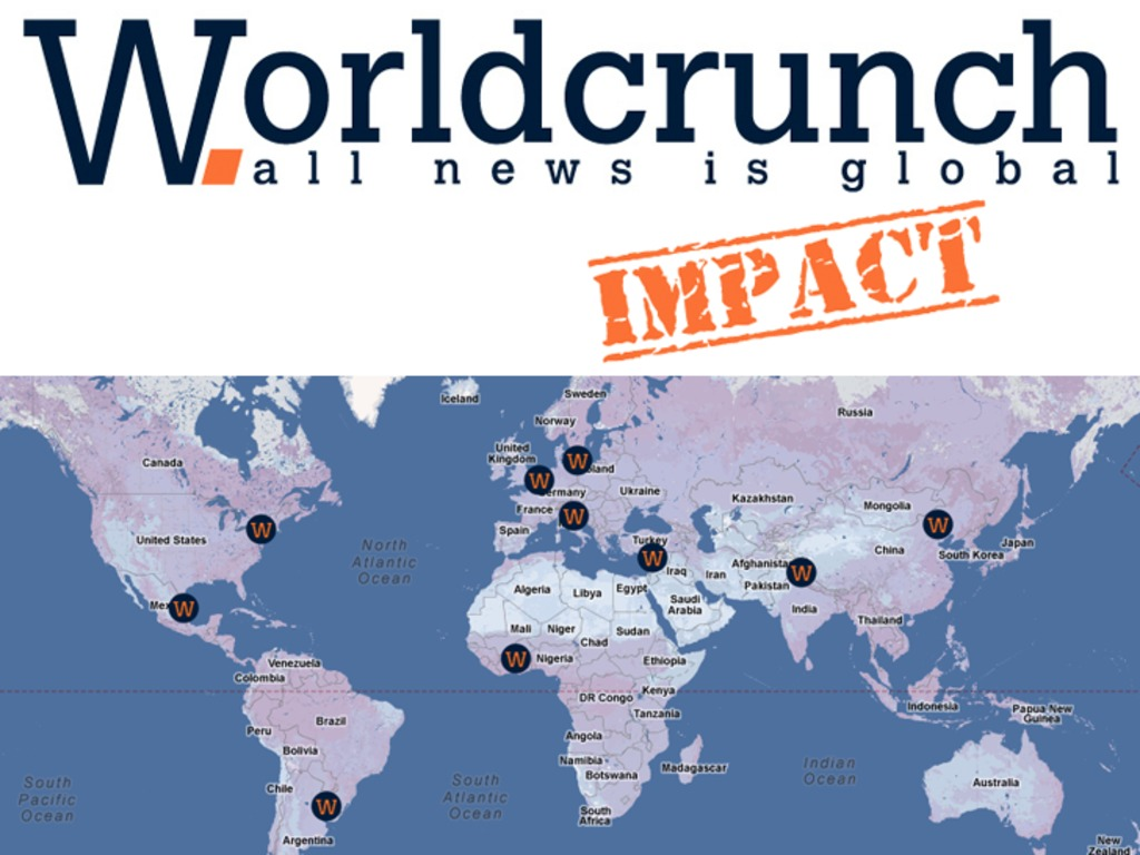 Worldcrunch Impact, solutions without borders's video poster