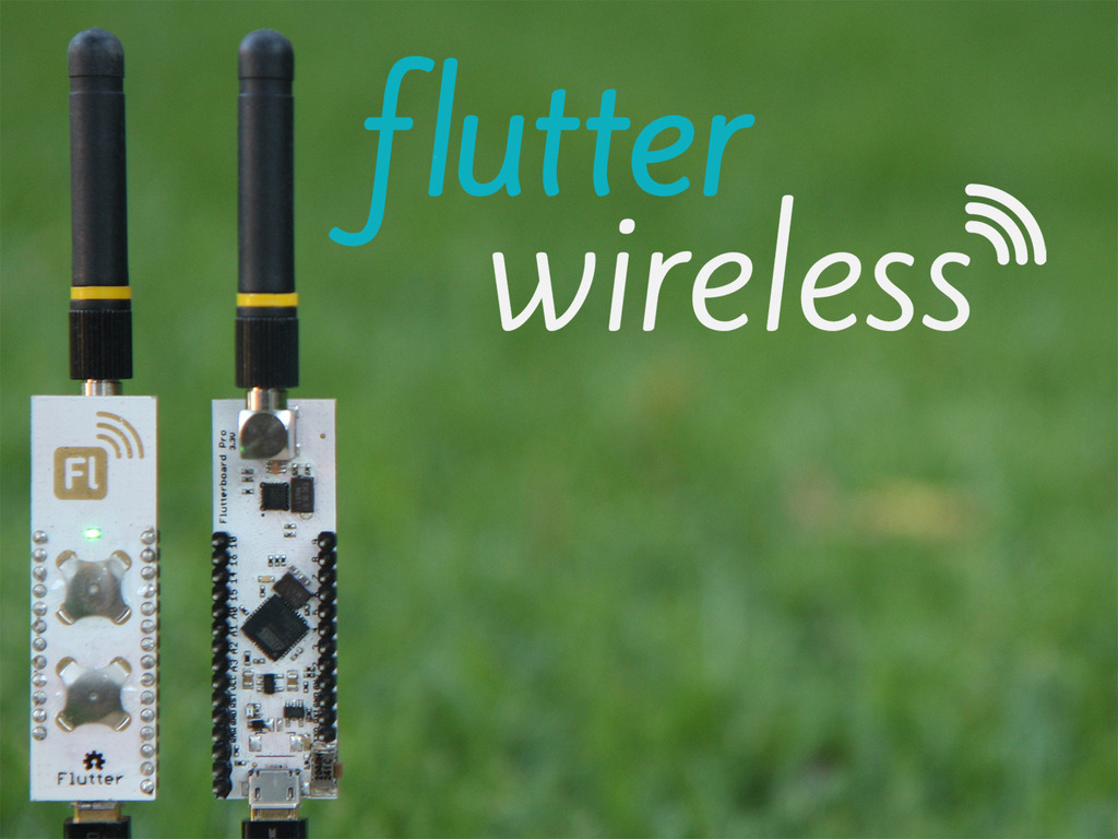 Flutter: $20 Wireless Arduino with half mile (1km) range.'s video poster
