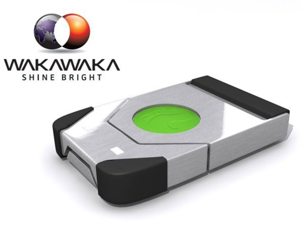 WAKAWAKA solar LED lamp with a story's video poster