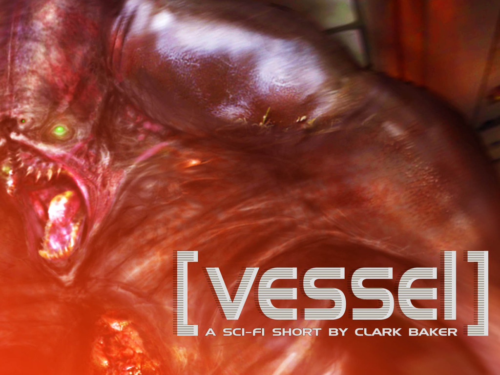 Vessel - a scifi short film's video poster