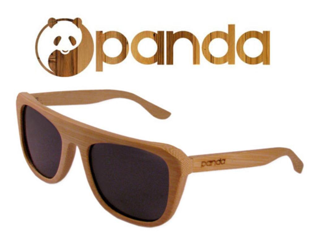PANDA: Eco-friendly Handmade Bamboo Sunglasses's video poster