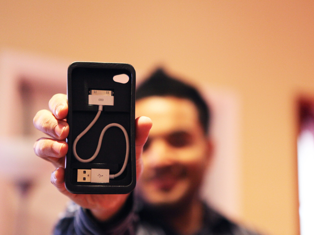 Cord-On-Board Case by CaseInity for iPhone's video poster