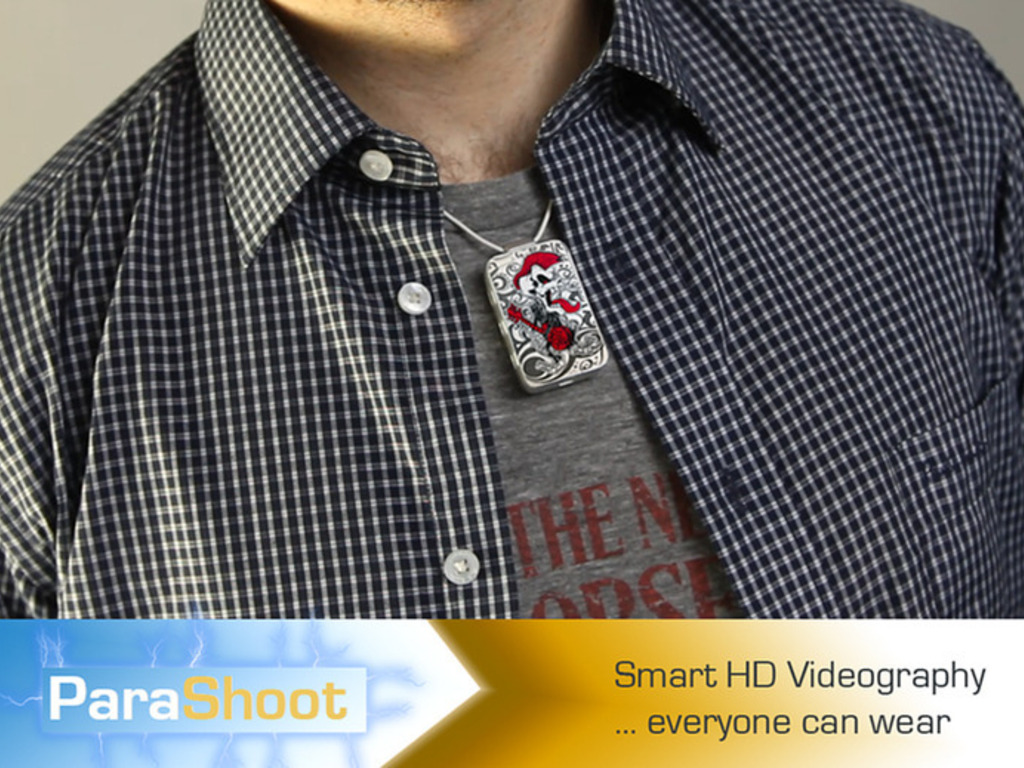 ParaShoot - Smart HD Videography Everyone Can Wear's video poster