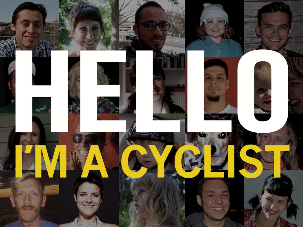 HELLO I'm a Cyclist's video poster