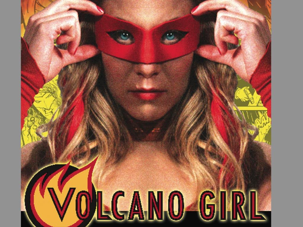 Volcano Girl's video poster