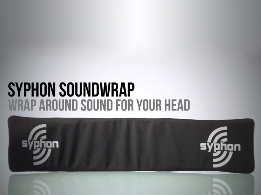 Syphon Soundwrap - Wrap Around Sound for Your Head's video poster