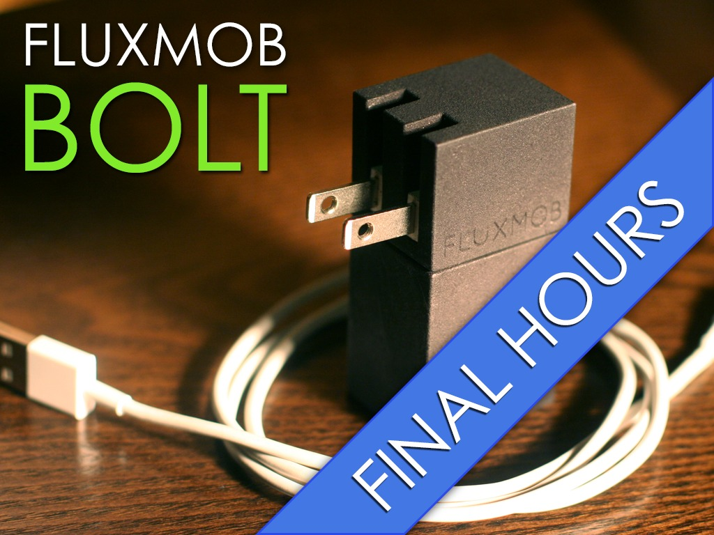 BOLT: Portable USB Battery Backup with Built in Wall Charger's video poster