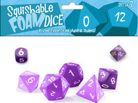 Giant 2 Inch Soft Foam Polyhedral Dice