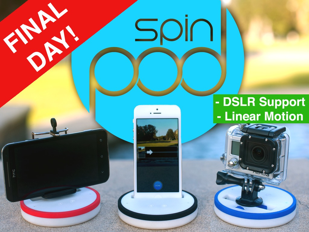 Spinpod: Seamless panoramic & motion time-lapse photography's video poster