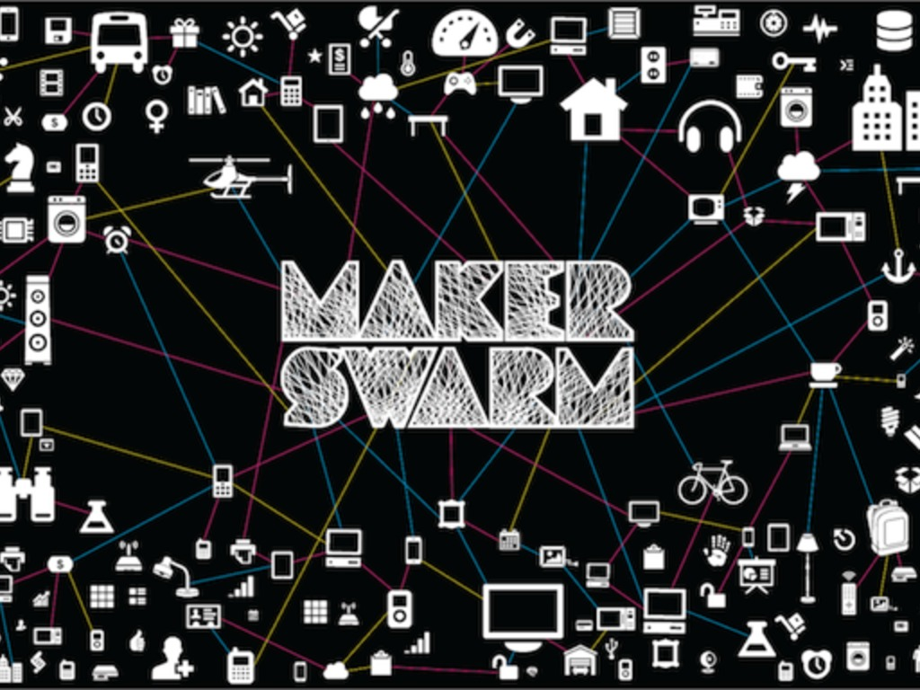 MakerSwarm- An Authoring Tool for the Internet of Everything's video poster
