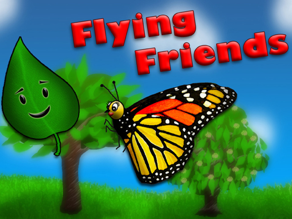 The Fable of the Flying Friends, A Children's Picture Book's video poster