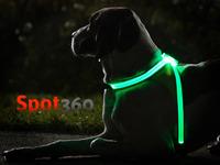 Spot360   Illuminated, Reflective, & Fluorescent Dog Vest