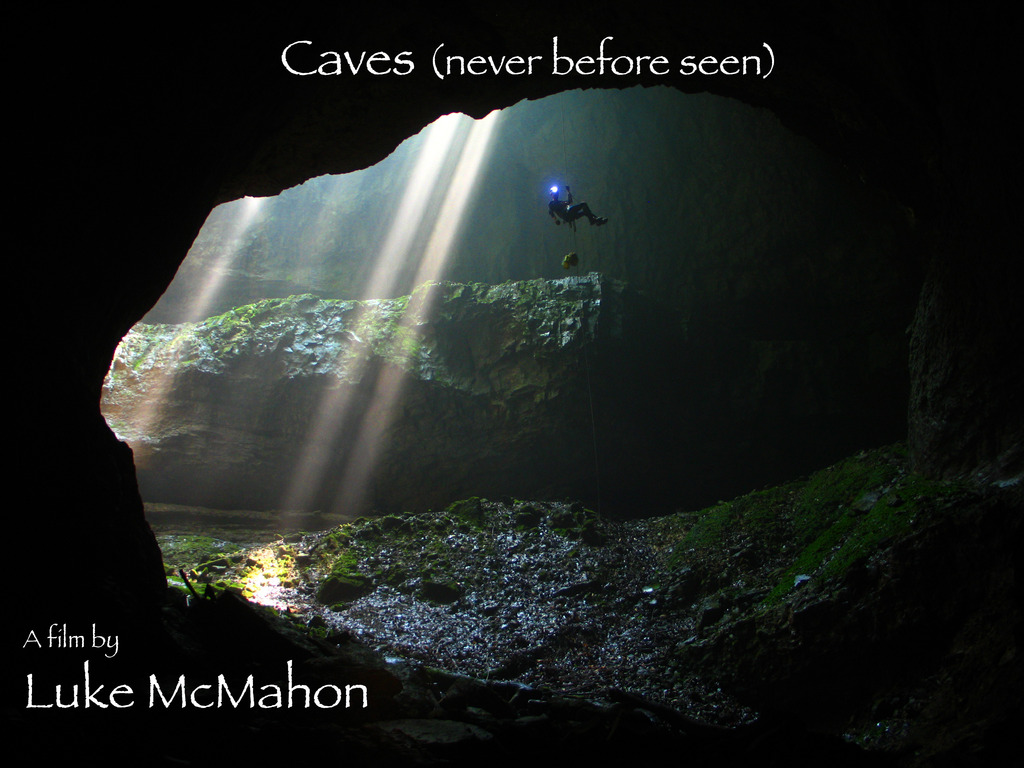 Caves (never before seen)'s video poster