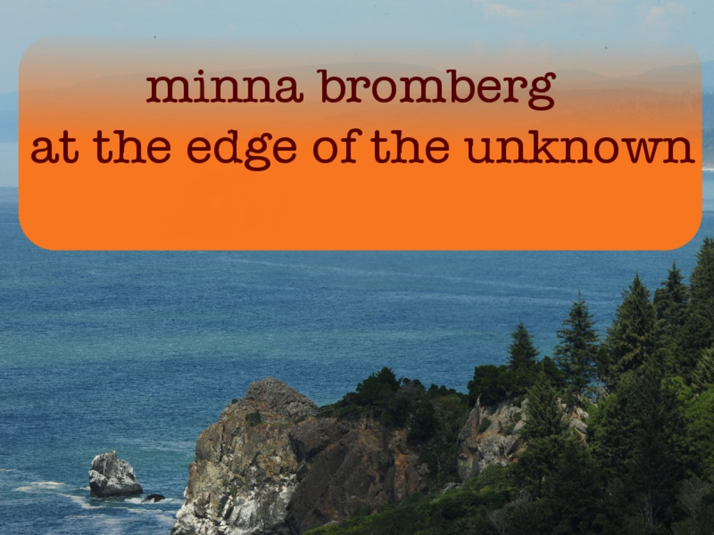 Minna Bromberg: at the edge of the unknown's video poster