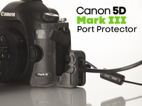Canon 5D Mark III  HDMI / USB Port Protector
