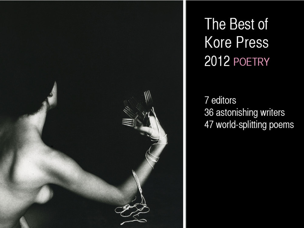 """""""The Best of Kore Press,"""" A 20th Birthday Book. Celebrate!'s video poster"""