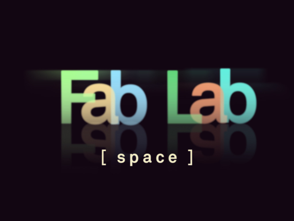 The Fab Lab at SPACE's video poster