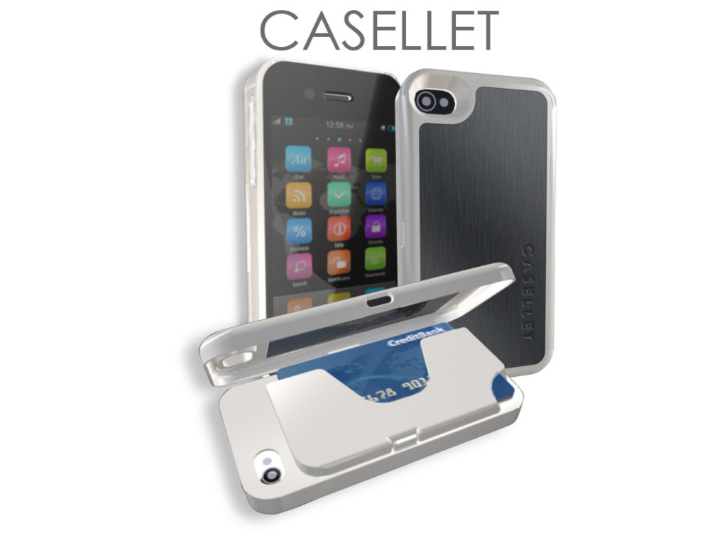 CASELLET - Ultimate iPhone 4/S Case Wallet's video poster